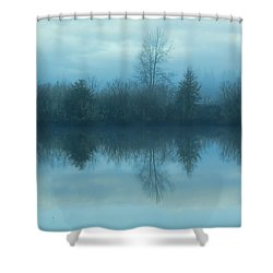 Reflections Shower Curtain by Cathy Anderson