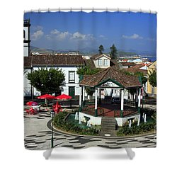 Ribeira Grande - Azores Shower Curtain by Gaspar Avila