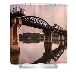 River Kwai Bridge Shower Curtain