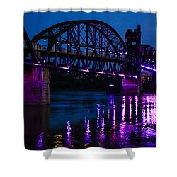 Rock Island Bridge Arkinsas Shower Curtain
