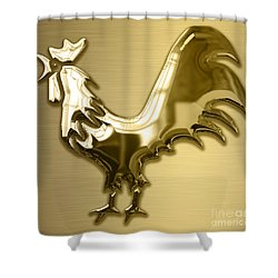 Rooster Collection Shower Curtain