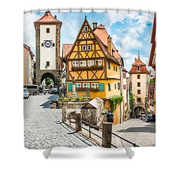 Rothenburg Ob Der Tauber Shower Curtain