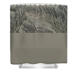 Sand Reels Shower Curtain
