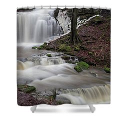 Scalber Force Shower Curtain