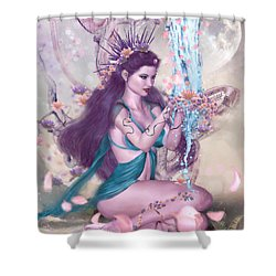 4 Seasons 2 Shower Curtain