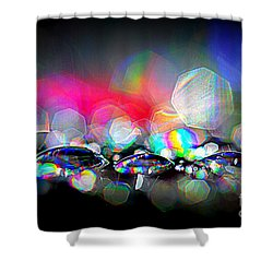 Sparks Shower Curtain