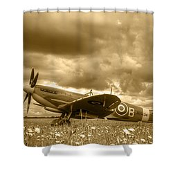 Spitfire Mk Ixb Shower Curtain