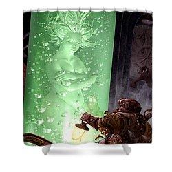 Steampunk Shower Curtain