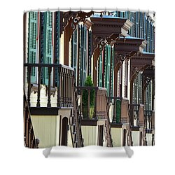 Sylvan Terrace Shower Curtain