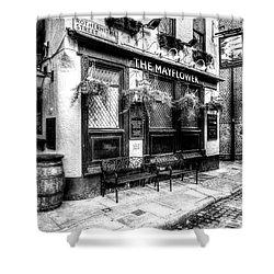 The Mayflower Pub London Shower Curtain