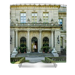 The Rosecliff Shower Curtain by Sabine Edrissi