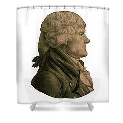 Thomas Jefferson Profile Shower Curtain
