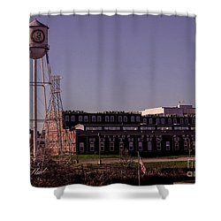 Shower Curtain featuring the photograph Vintage Tiptop Stoves by Melissa Messick