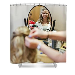 Wedding Shower Curtain by Steven Poulton