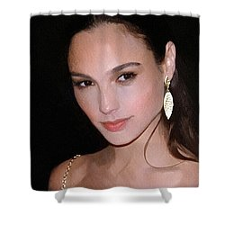 Gal Gadot Shower Curtain by Best Actors