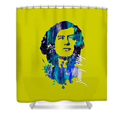 Jimmy Page Collection Shower Curtain by Marvin Blaine