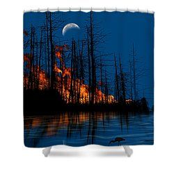 4040 Shower Curtain by Peter Holme III