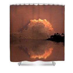 4186 Shower Curtain by Peter Holme III