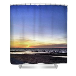 Instagram Photo Shower Curtain by John Edwards