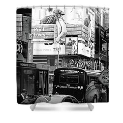 42nd Street Nyc Shower Curtain
