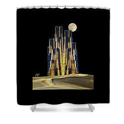 Shower Curtain featuring the photograph 4365 by Peter Holme III