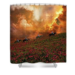 Shower Curtain featuring the photograph 4370 by Peter Holme III