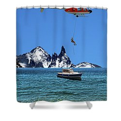 Shower Curtain featuring the photograph 4372 by Peter Holme III