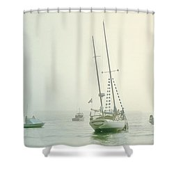Shower Curtain featuring the photograph 4373 by Peter Holme III