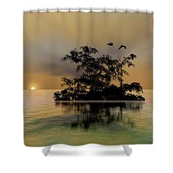 Shower Curtain featuring the photograph 4374 by Peter Holme III