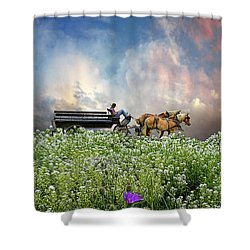 Shower Curtain featuring the photograph 4376 by Peter Holme III