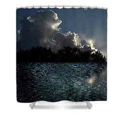 Shower Curtain featuring the photograph 4377 by Peter Holme III