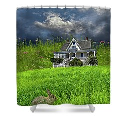 Shower Curtain featuring the photograph 4379 by Peter Holme III
