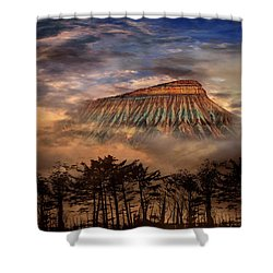 Shower Curtain featuring the photograph 4381 by Peter Holme III