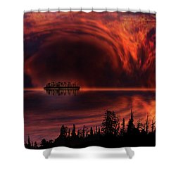 Shower Curtain featuring the photograph 4385 by Peter Holme III