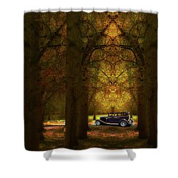 Shower Curtain featuring the photograph 4390 by Peter Holme III
