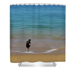 Shower Curtain featuring the photograph 4391 by Peter Holme III