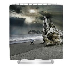 Shower Curtain featuring the photograph 4392 by Peter Holme III