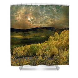 Shower Curtain featuring the photograph 4394 by Peter Holme III