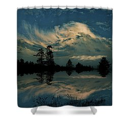 Shower Curtain featuring the photograph 4395 by Peter Holme III