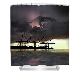 Shower Curtain featuring the photograph 4396 by Peter Holme III