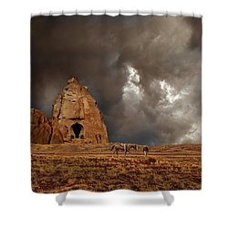 Shower Curtain featuring the photograph 4398 by Peter Holme III