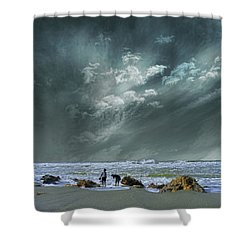 Shower Curtain featuring the photograph 4399 by Peter Holme III