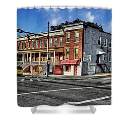 43rd Street And York Road Shower Curtain