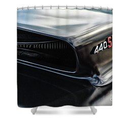 Shower Curtain featuring the photograph 440 Sixpack by Brad Allen Fine Art