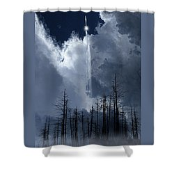 Shower Curtain featuring the photograph 4404 by Peter Holme III
