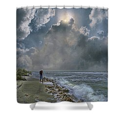 Shower Curtain featuring the photograph 4405 by Peter Holme III