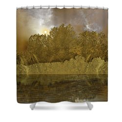 Shower Curtain featuring the photograph 4411 by Peter Holme III