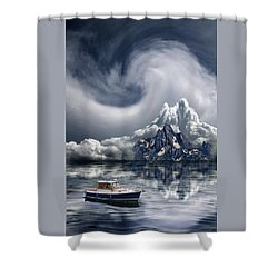 Shower Curtain featuring the photograph 4412 by Peter Holme III