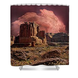 Shower Curtain featuring the photograph 4417 by Peter Holme III
