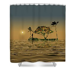 Shower Curtain featuring the photograph 4423 by Peter Holme III